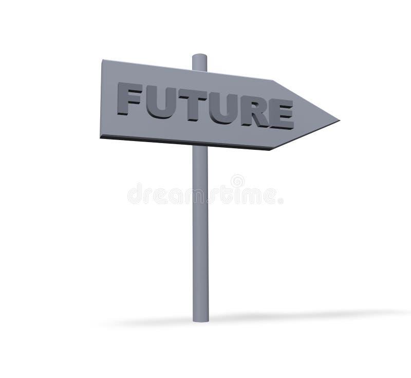 будущее иллюстрация штока