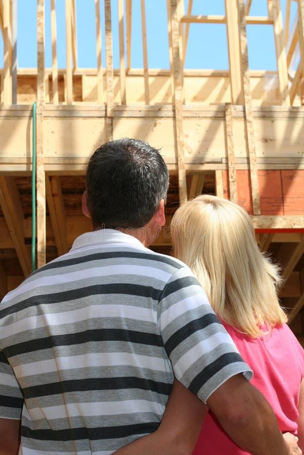 будущий дом стоковая фотография rf