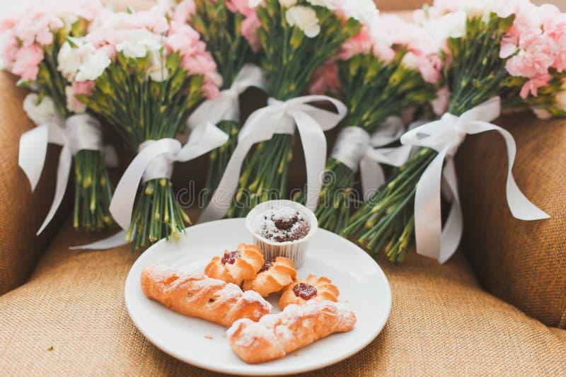 Букеты свадьбы стоковая фотография rf