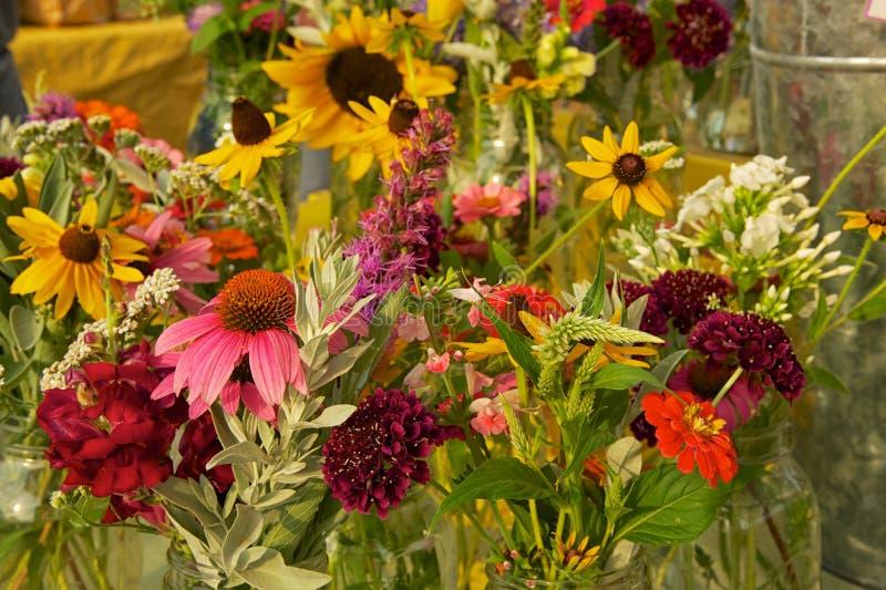 букеты цветут свежая стоковая фотография