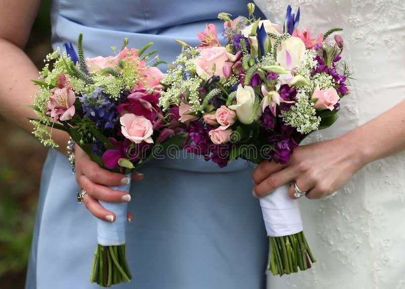букеты wedding стоковые фото