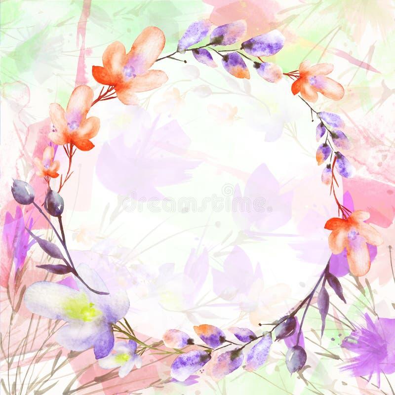 Букет акварели цветков r o бесплатная иллюстрация