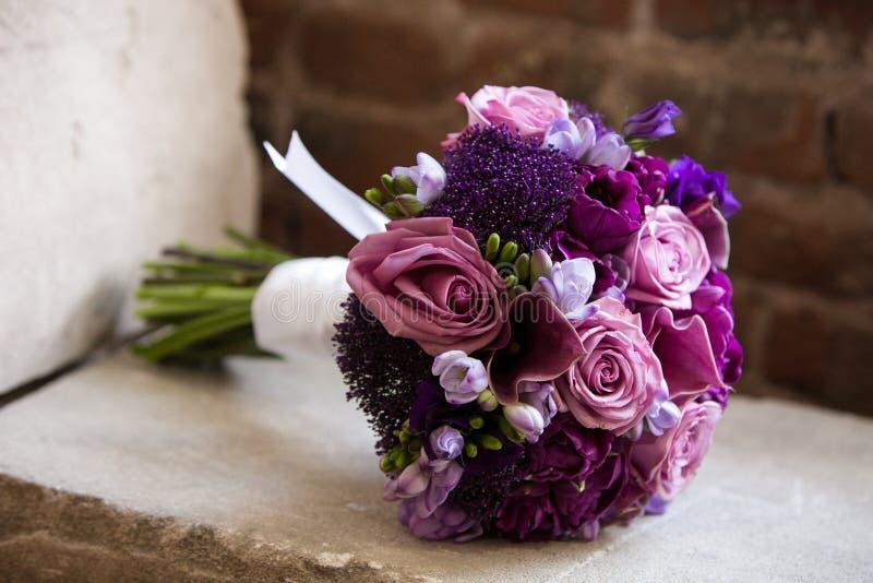 Букет венчания стоковое фото rf