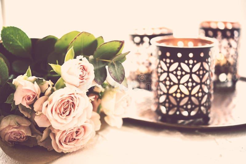 букет миражирует розы стоковое изображение rf