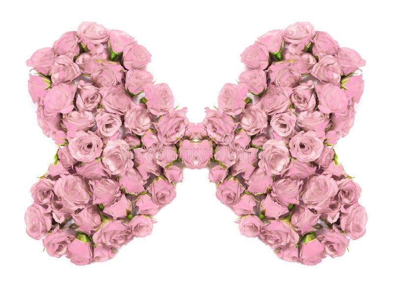 Букет роз - конструируйте элемент для флористических тем стоковое изображение rf