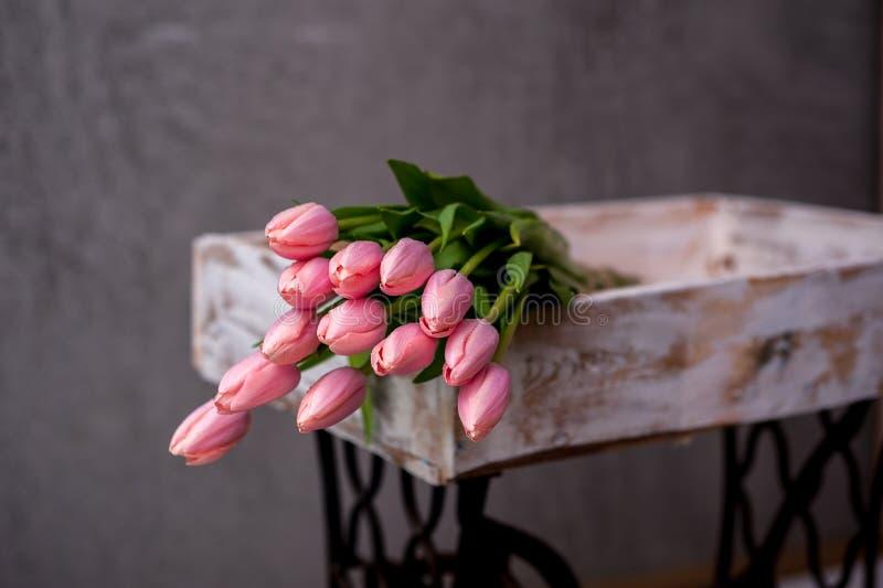 Букет тюльпана стоковое изображение rf