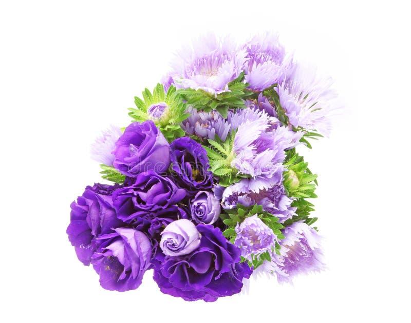 Букет цветков eustoma и pincushion стоковое изображение