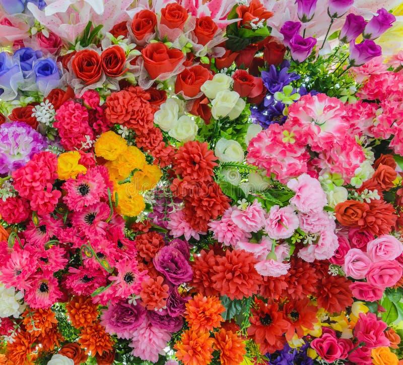 Букет Beautyful красочный смешанный стоковые фотографии rf