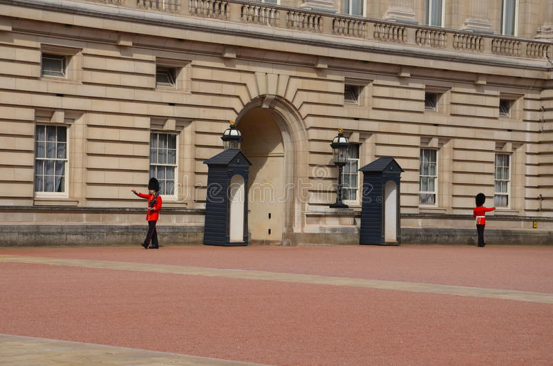 Букингемский дворец стоковая фотография rf