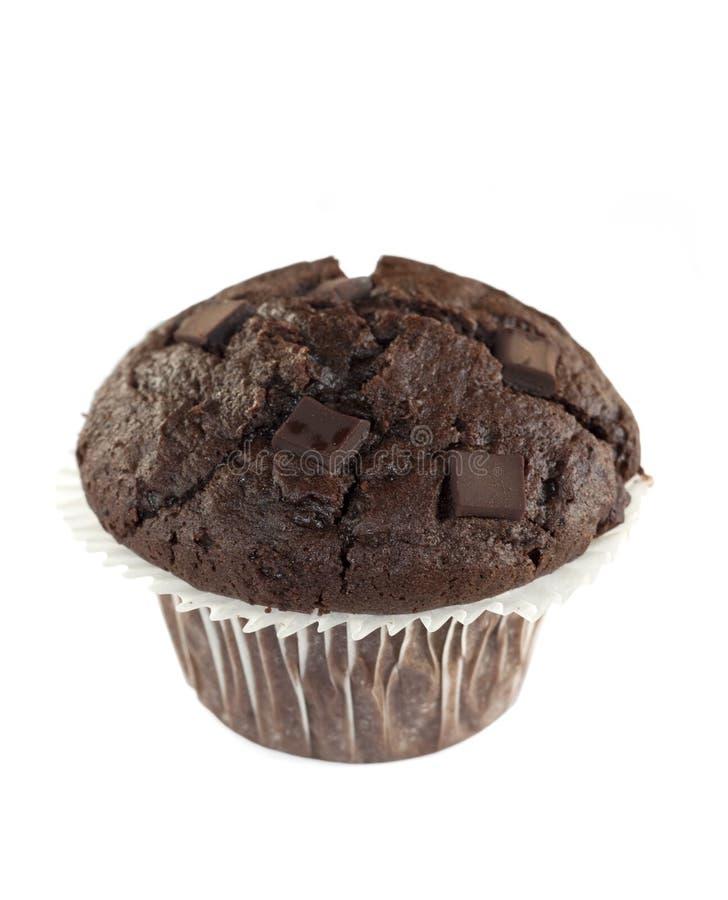 булочка шоколада двойная стоковая фотография