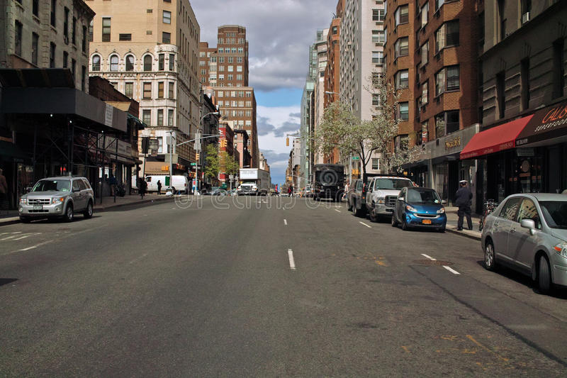 бульвар lexington New York стоковые фото