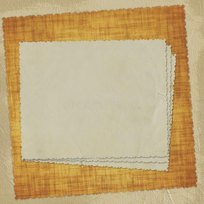 бумага абстрактной карточки предпосылки старая бесплатная иллюстрация
