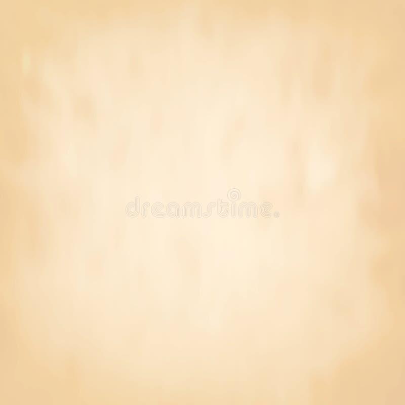 Бумага абстрактной коричневой предпосылки старая бесплатная иллюстрация