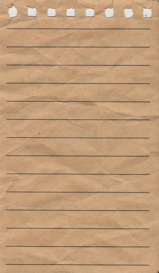Бумага блокнота стоковое изображение rf