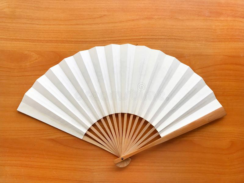 Бумага вентилятора белая китайская стоковые фото