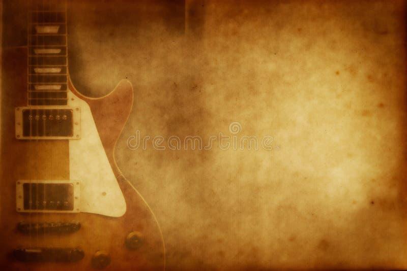 бумага гитары grunge