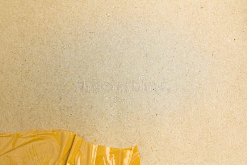 Бумага губительно текстурирует белую предпосылку стоковая фотография rf