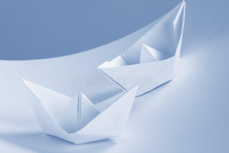 бумага документов принципиальной схемы дела шлюпки стоковое фото