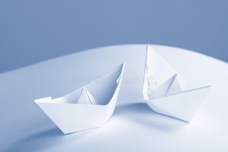 бумага документов принципиальной схемы дела шлюпки стоковое изображение