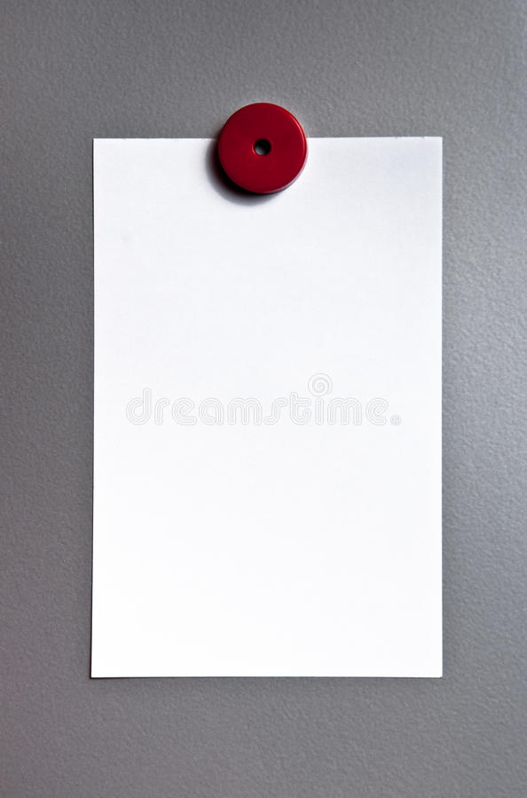 бумага доски магнитная стоковое фото