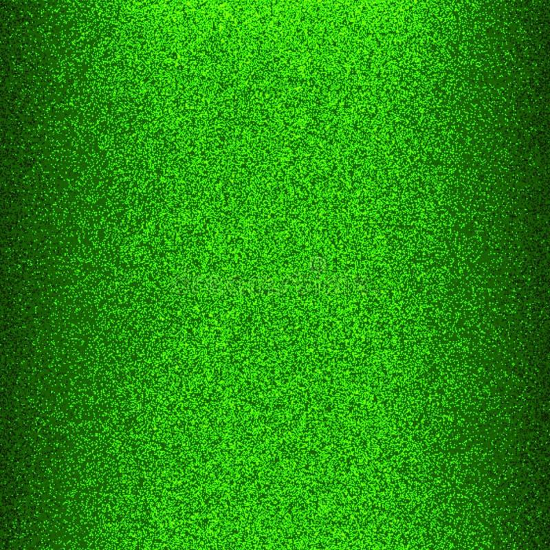 Бумага зеленого цвета лоснистая и сияющая яркого блеска с компьютером света и влияния 3 d произвела фоновое изображение и дизайн  иллюстрация вектора
