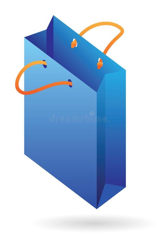 бумага иконы мешка равновеликая иллюстрация вектора
