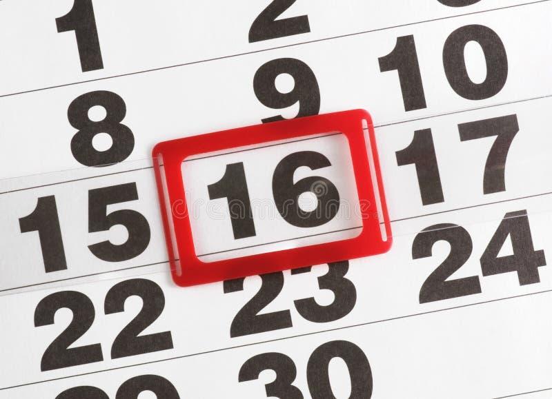 бумага календара стоковое изображение rf