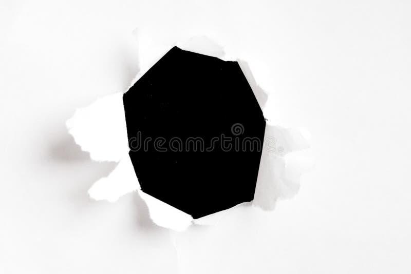 бумага отверстия стоковые фото
