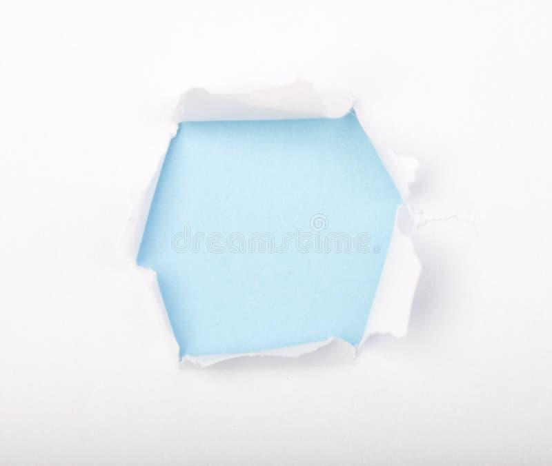 бумага отверстия стоковая фотография