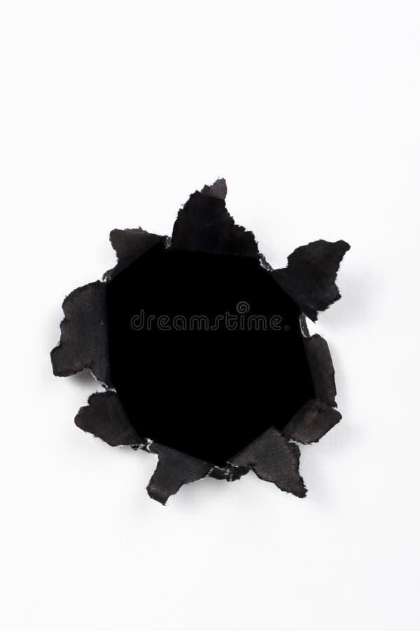 бумага отверстия стоковое фото rf