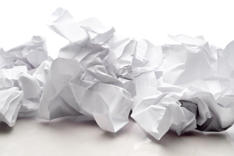 бумага покрывает белизну стоковое изображение rf