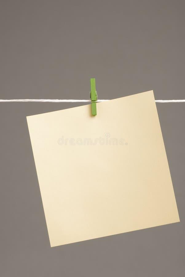 бумага примечания стоковая фотография