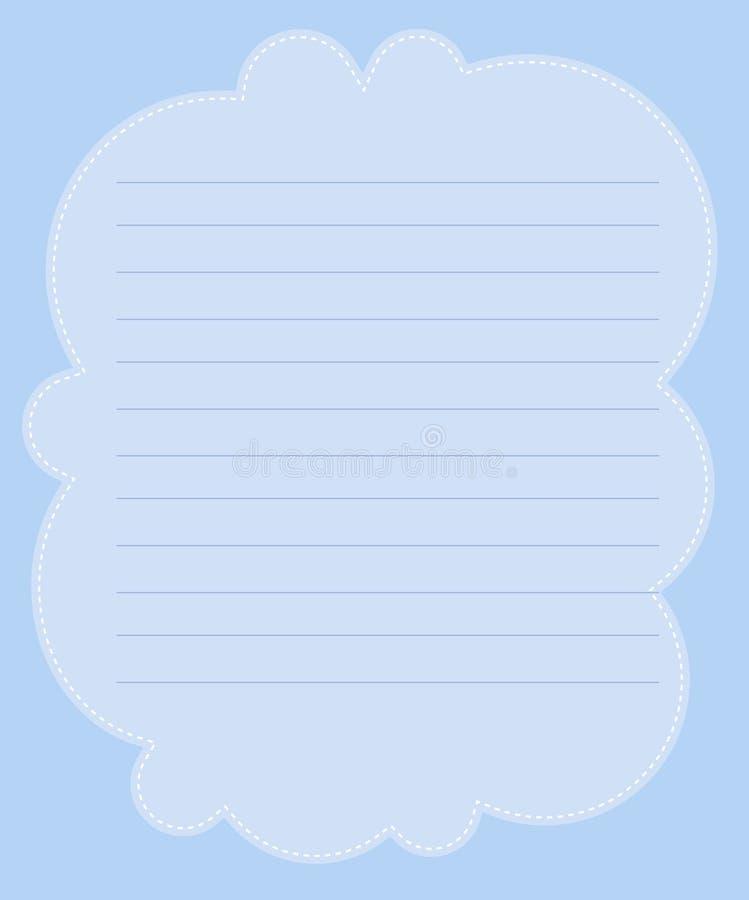 бумага примечания иллюстрация штока