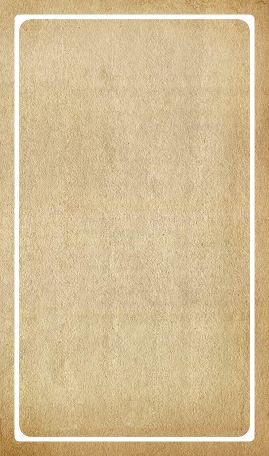 бумага рамки внутренняя старая стоковое изображение
