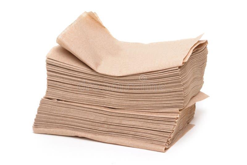 бумага салфеток стоковое изображение