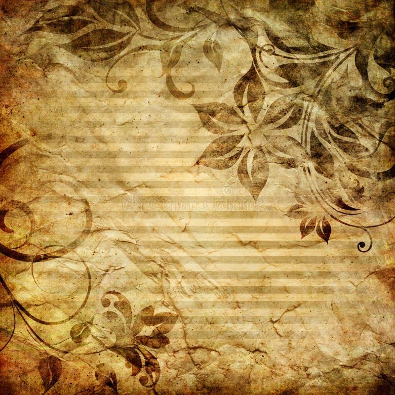 Бумага сбора винограда бесплатная иллюстрация
