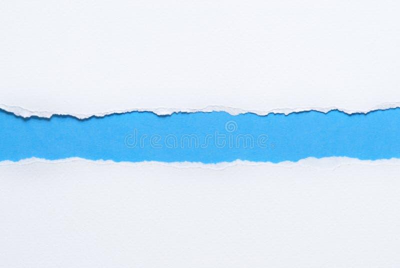 Бумага сорванная белизной стоковое фото