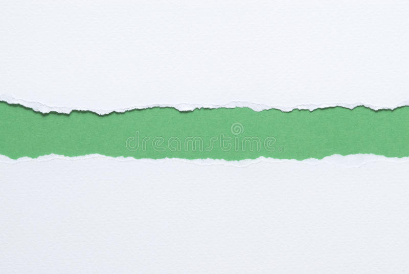 Бумага сорванная белизной стоковое изображение