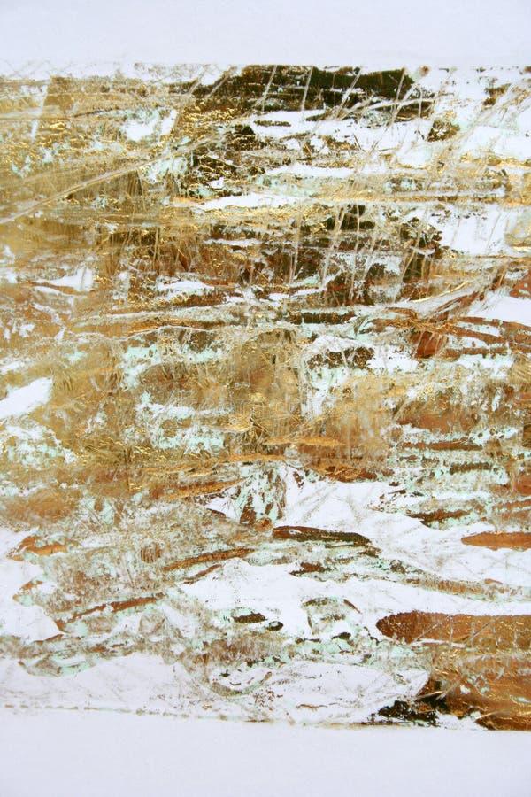 бумага цвета произведения искысства золотистая стоковые фото