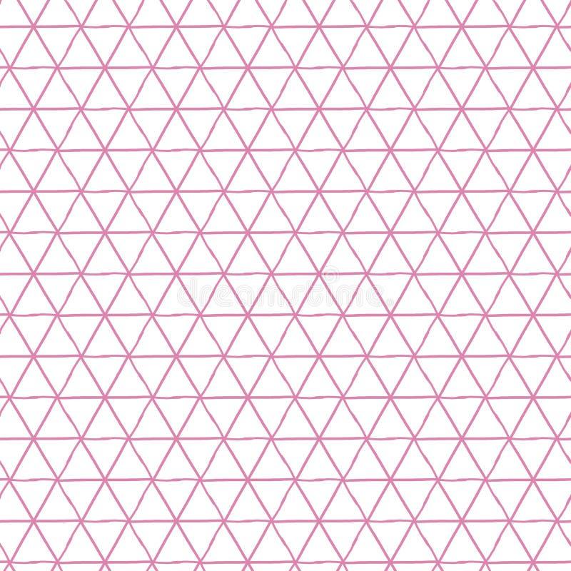 Бумага цифров треугольника, геометрическая предпосылка, треугольник геометрический иллюстрация вектора