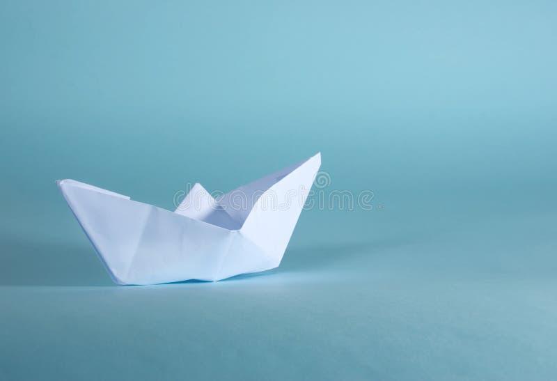 бумага шлюпки стоковое изображение