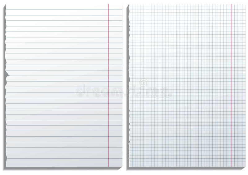 бумага 2 страниц иллюстрация вектора