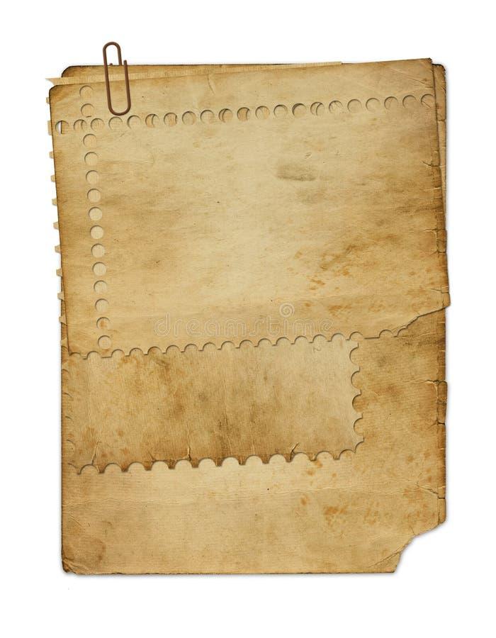 бумага grunge старая стоковое фото