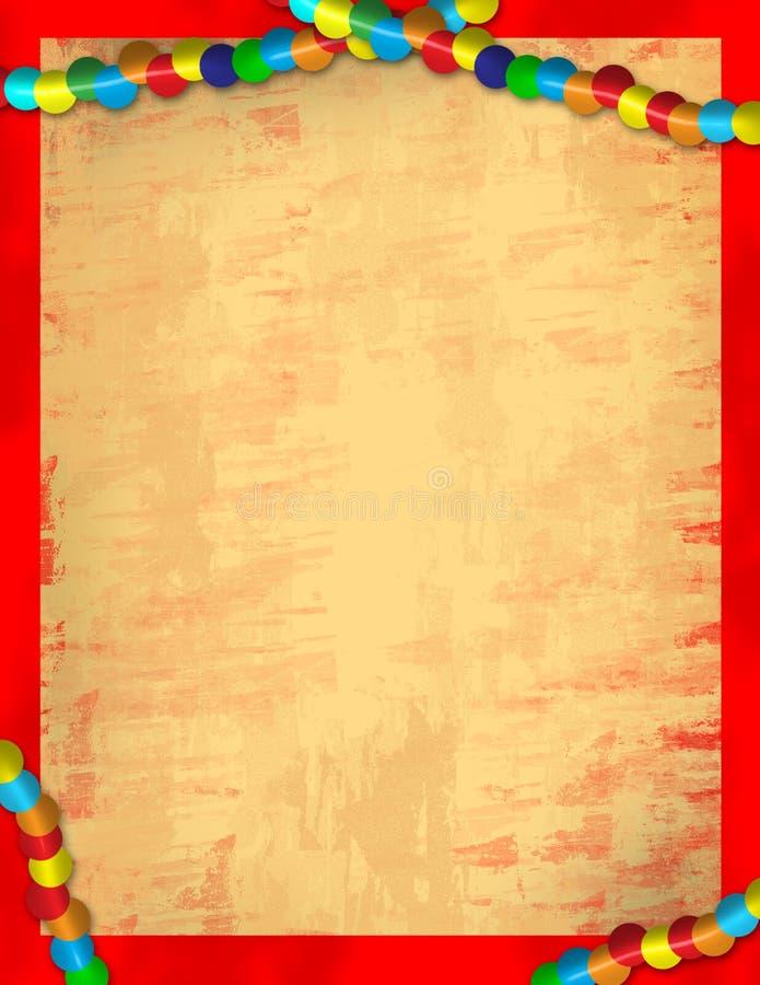 бумага mardi gras иллюстрация вектора