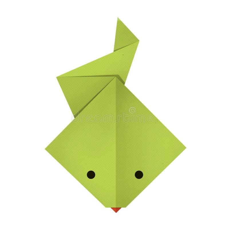 Бумага Origami змейка стоковое фото