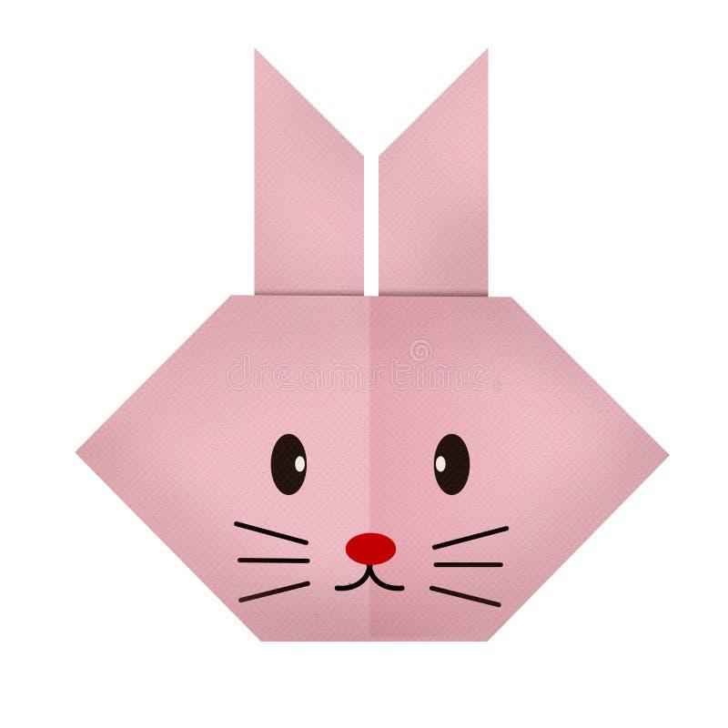 Бумага Origami кролик (сторона) стоковые изображения rf