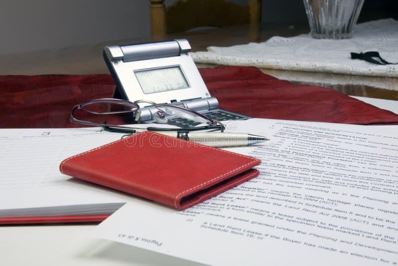 бумаги офиса стоковая фотография rf