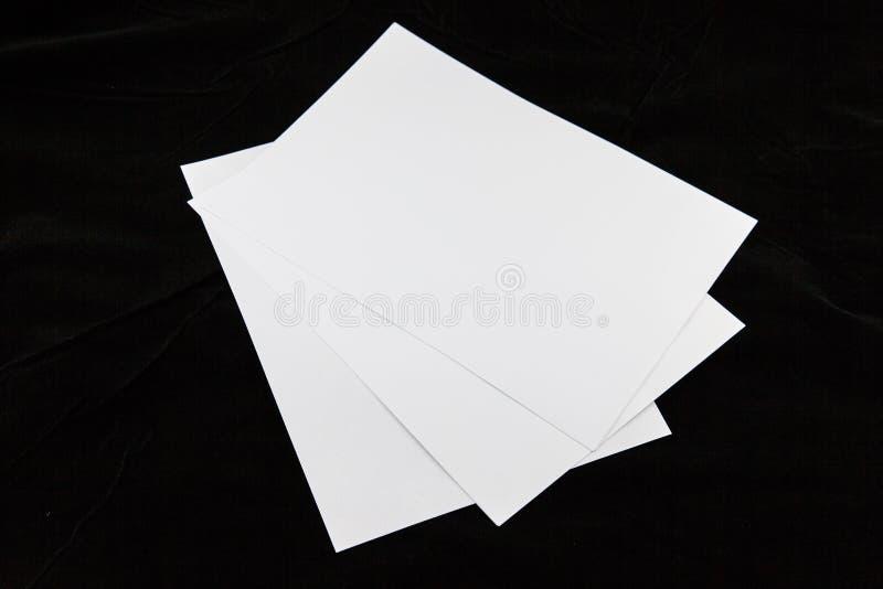 Бумаги A4 стоковые фото