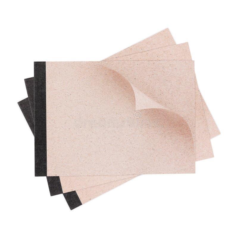 бумажная пусковая площадка изолированная на белизне стоковое фото rf