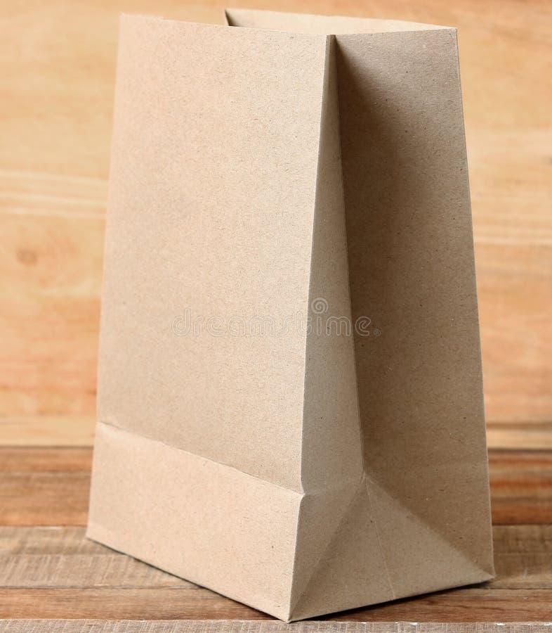 Бумажная сумка стоковое изображение rf